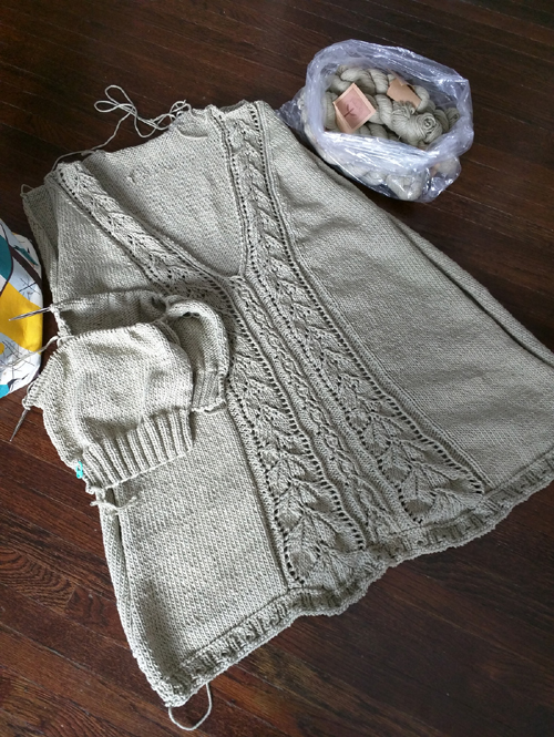 Meara Tunic - Knitting Pattern