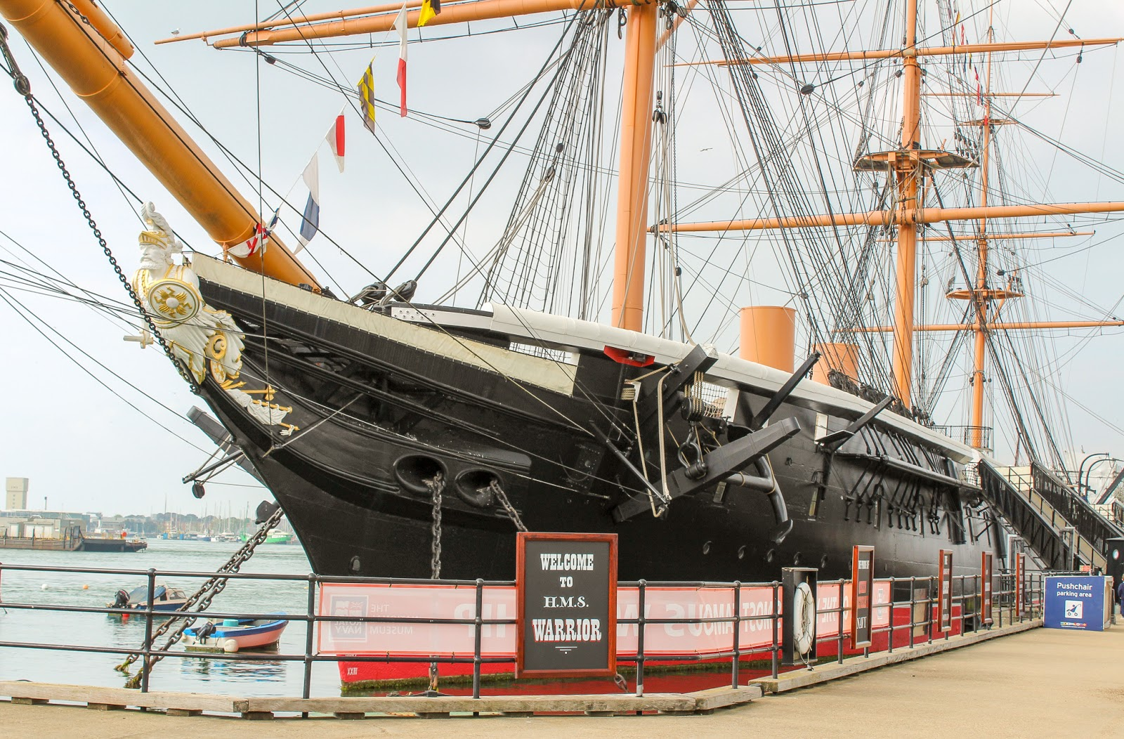 A Family Day Out at Portsmouth Historic Dockyard