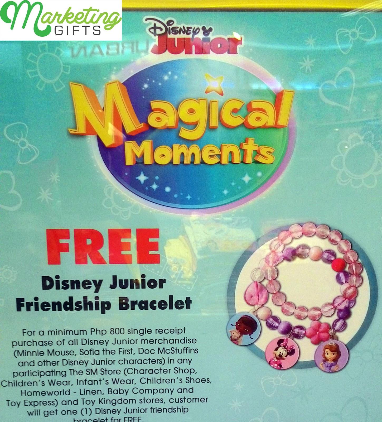 marketing gifts disney junior promo gift free friendship bracelet. Black Bedroom Furniture Sets. Home Design Ideas