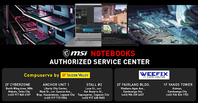 MSI launches first-ever authorized repair services  outside Metro Manila