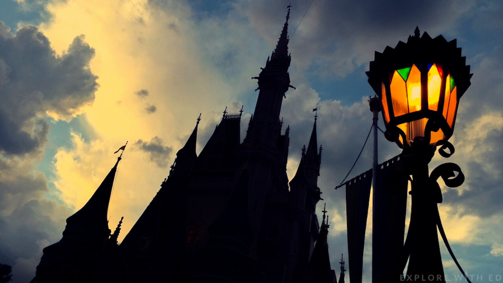 Magic Kingdom Castle in Orlando Florida