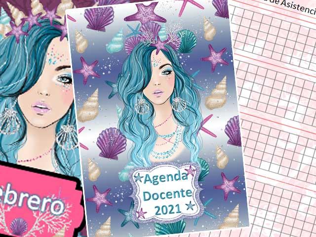 Agenda Docente 2021 - Sirena - 177 páginas