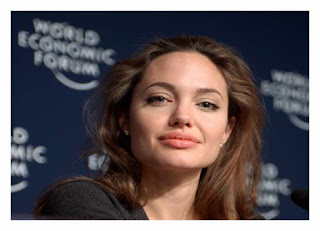 Angelina Jolie Biography Poster