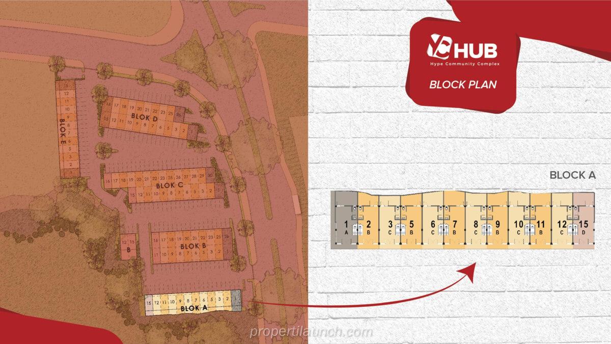 Blok A Ruko YC Hub