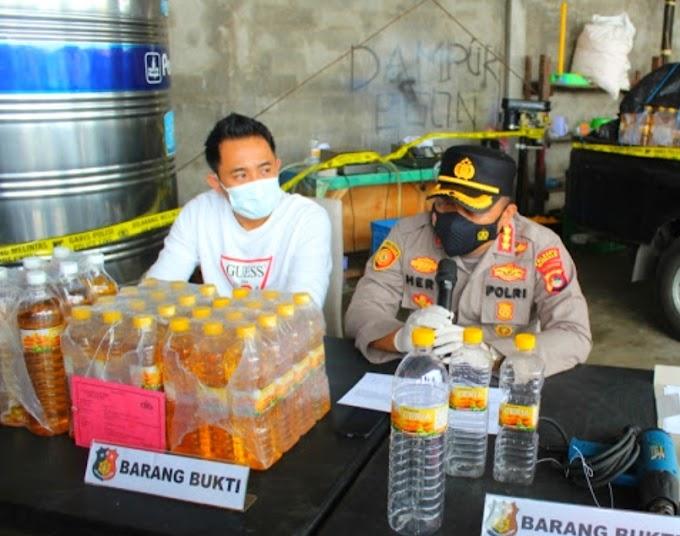 Baru Terungkap, Ribuan Liter Minyak Goreng Ilegal Beredar di Mataram