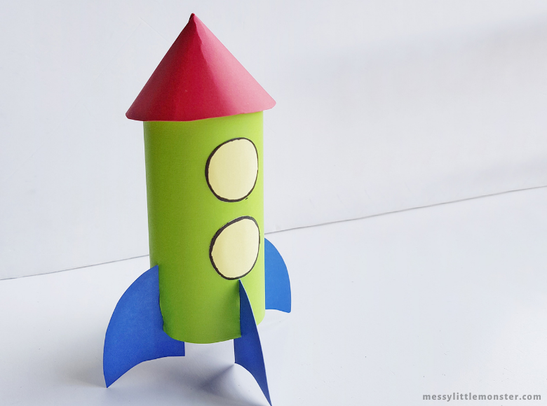 outer space rocket craft for kids
