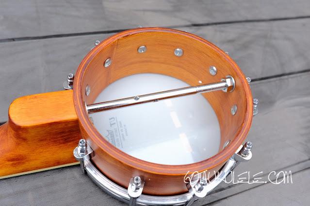 Barnes Mullins UBJ2 Banjo Ukulele rim