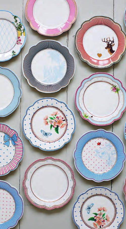 Lisbeth Dahl Plates