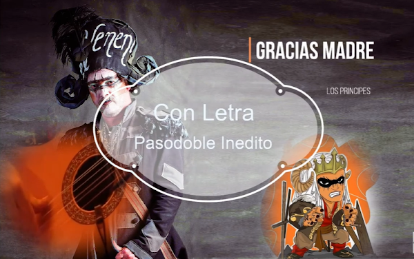 """✨Pasodoble ⚫no cantado en el Falla de 🥇JC Aragón """"Gracias Madre"""". """"Los Principes"""" (2011) con LETRA"""