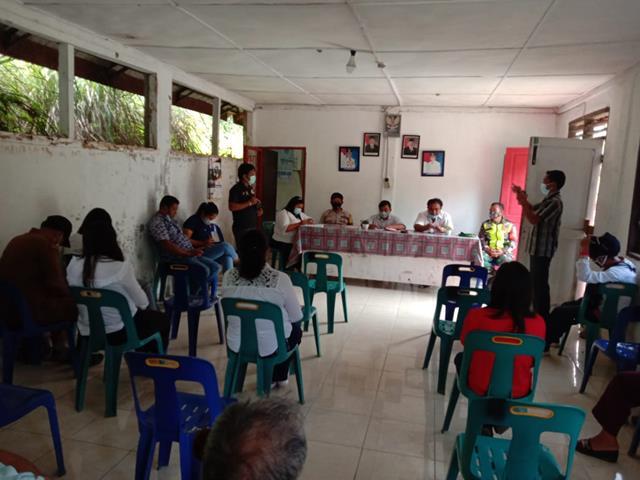 Dalam Rangka Musyawarah Desa Turut Serta Dihadiri Personel Jajaran Kodim 0207/Simalungun