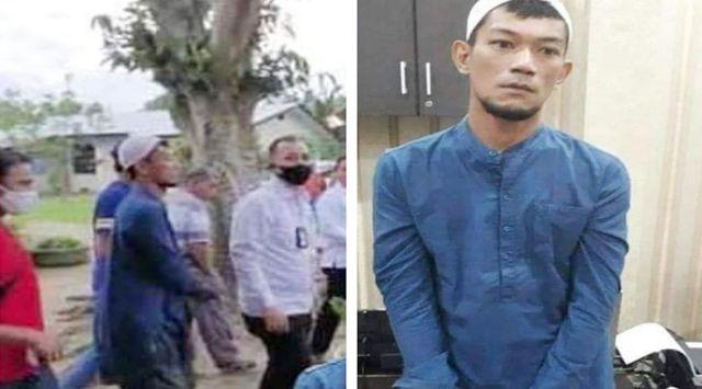 Polisi Pulangkan Ketua FPI Pengunggah Foto Hoax Megawati Gendong Jokowi