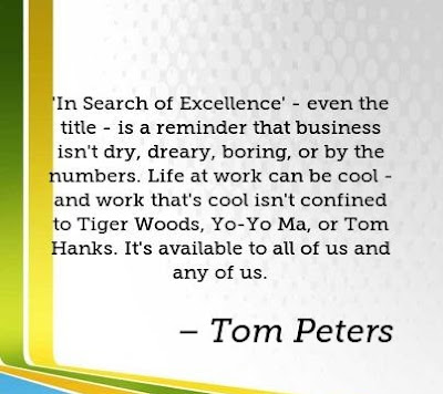 In Search Of Excellence Quotes