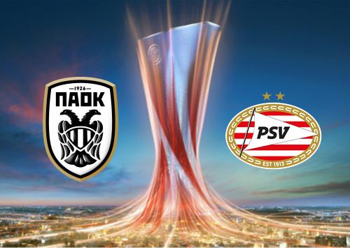 PAOK vs PSV -Highlights 05 November 2020