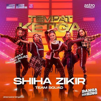 Shiha Zikir & Team Squad