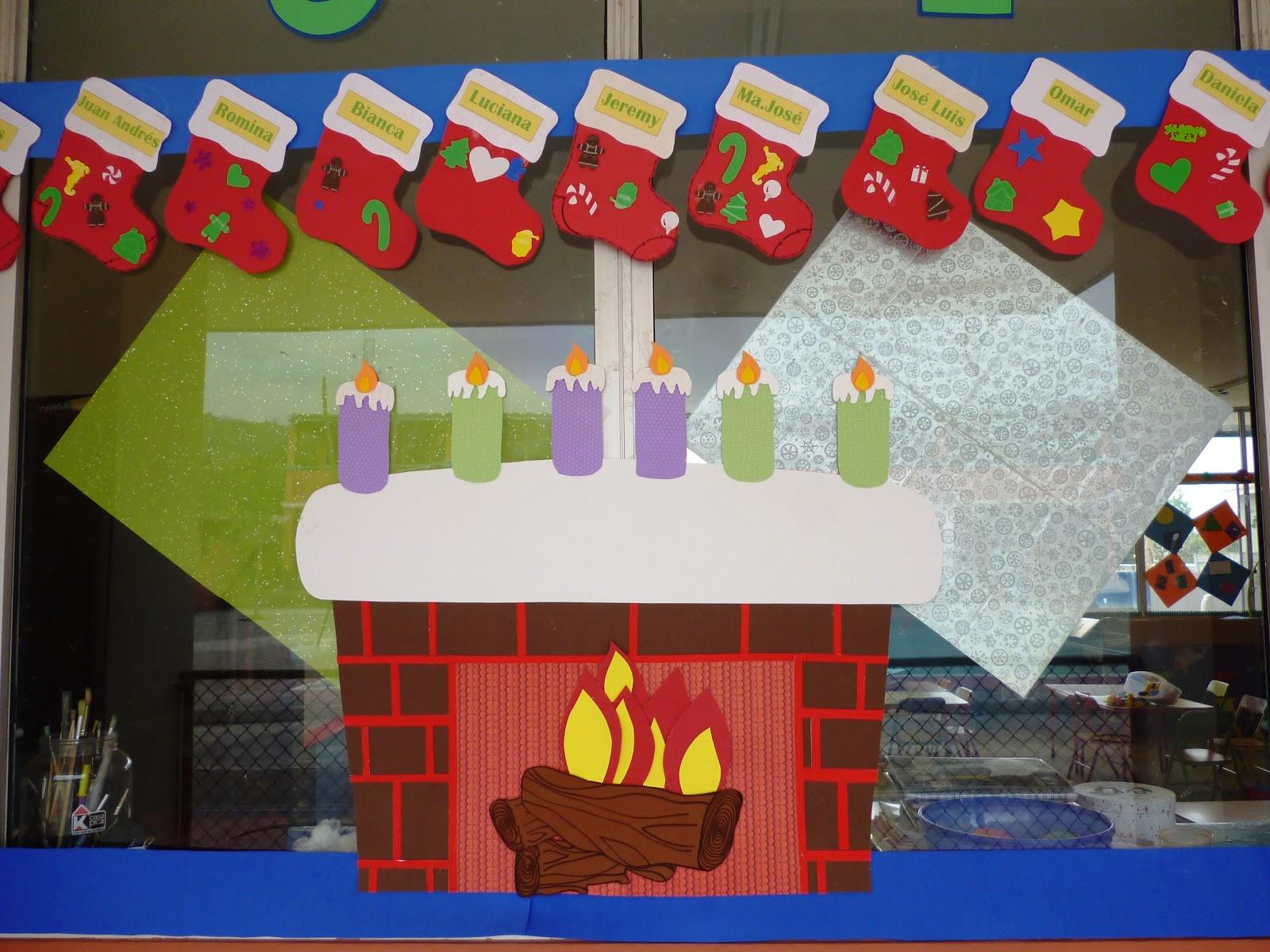 Educaci n inicial para todos adornos de navidad para el sal n de clases - Como decorar un salon en navidad ...