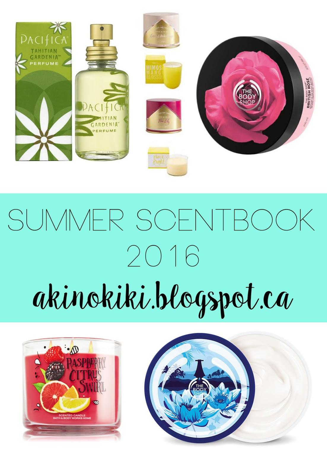 Summer Scentbook 2016 | Akinokiki