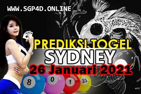 Prediksi Togel Sydney 26 Januari 2021