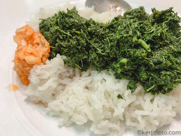 #keriitletokitchen: Cara-cara memasak pucuk ubi goreng (Kenyah style)