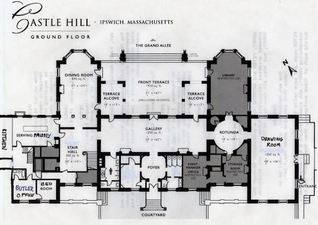 Chateau De Noisy Floor Plans Plans Pinterest Castles - plan d interieur de maison