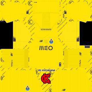 FC Porto 2019/2020 Kit - Dream League Soccer Kits