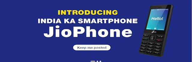 Introducing India Ka Smartphone JioPhone