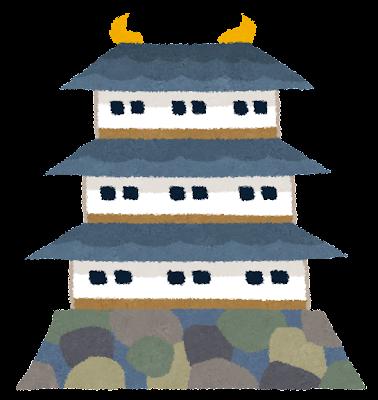 お城のイラスト(日本)