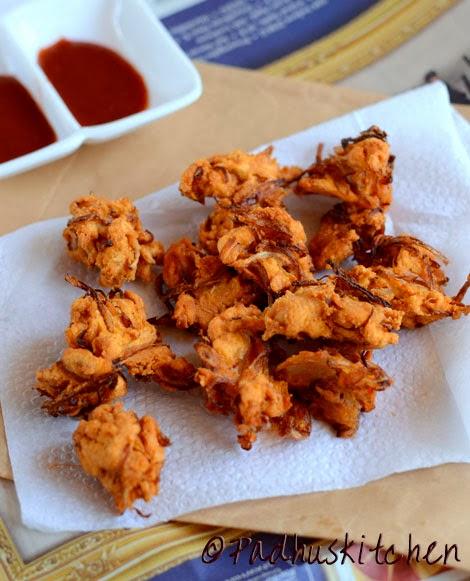 Onion Pakoda Recipe Rak S Kitchen