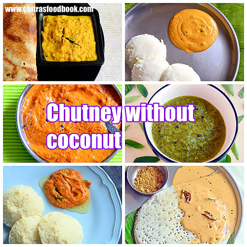 chutney recipes without coconut