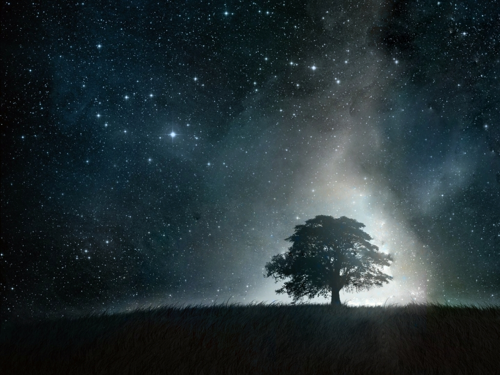 Beautiful Night Sky wallpaperWallpaper Background ...