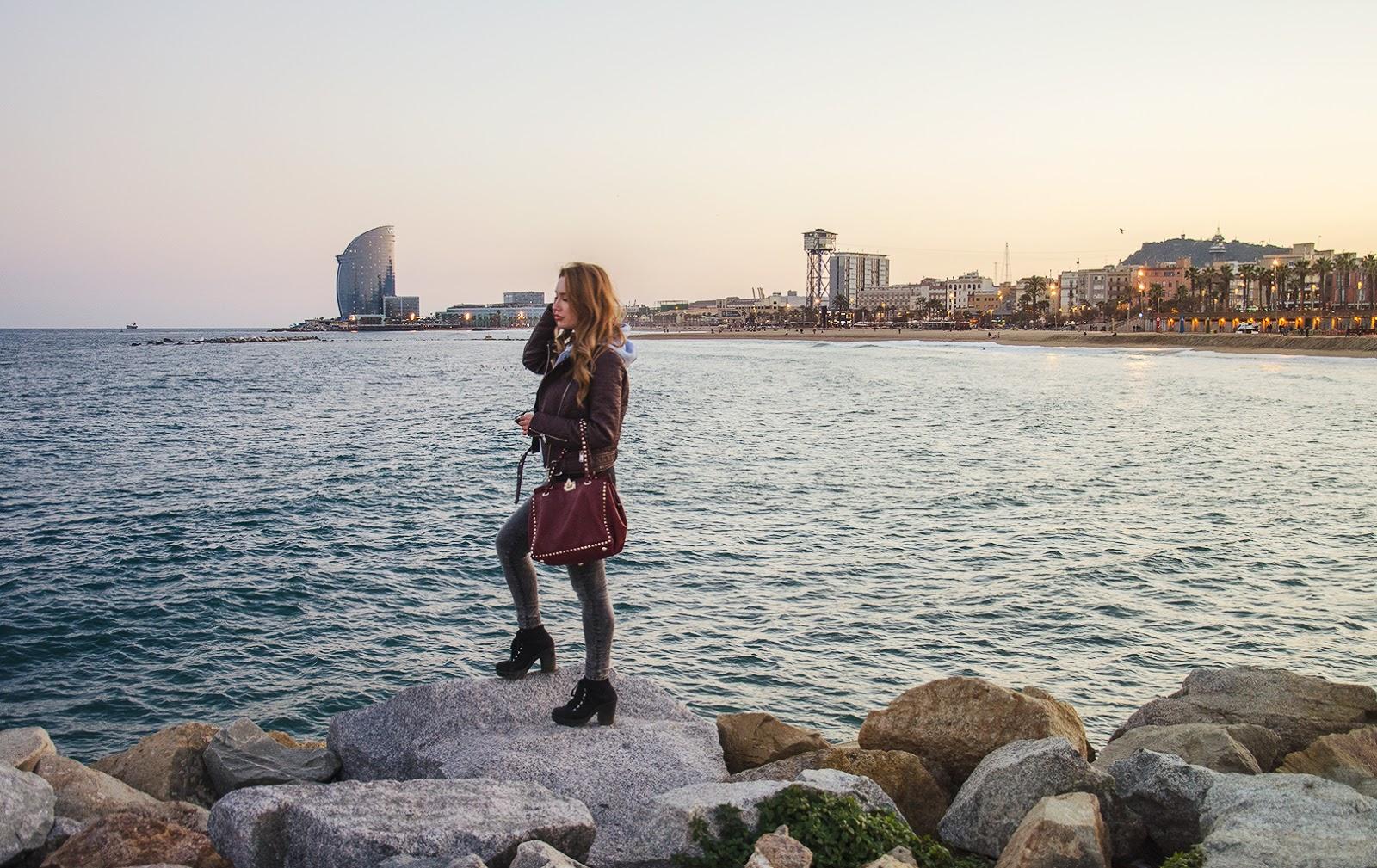 побережье барселоны, барселона город в испании пляж, пляжи барселоны фото, пляжи барселоны