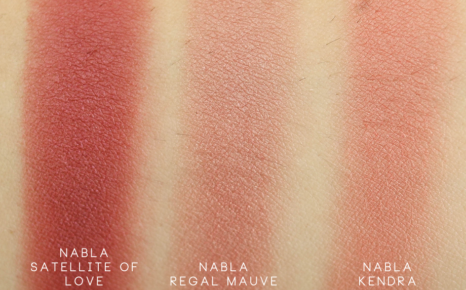 Nabla Goldust Blush Satellite of Love swatch