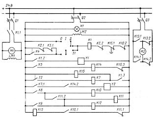 Принципиальная схема автоматического пуска аварийного дизель-генератора