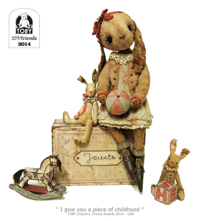 viscose rabbit, TOBY Industry Choice Award 2014