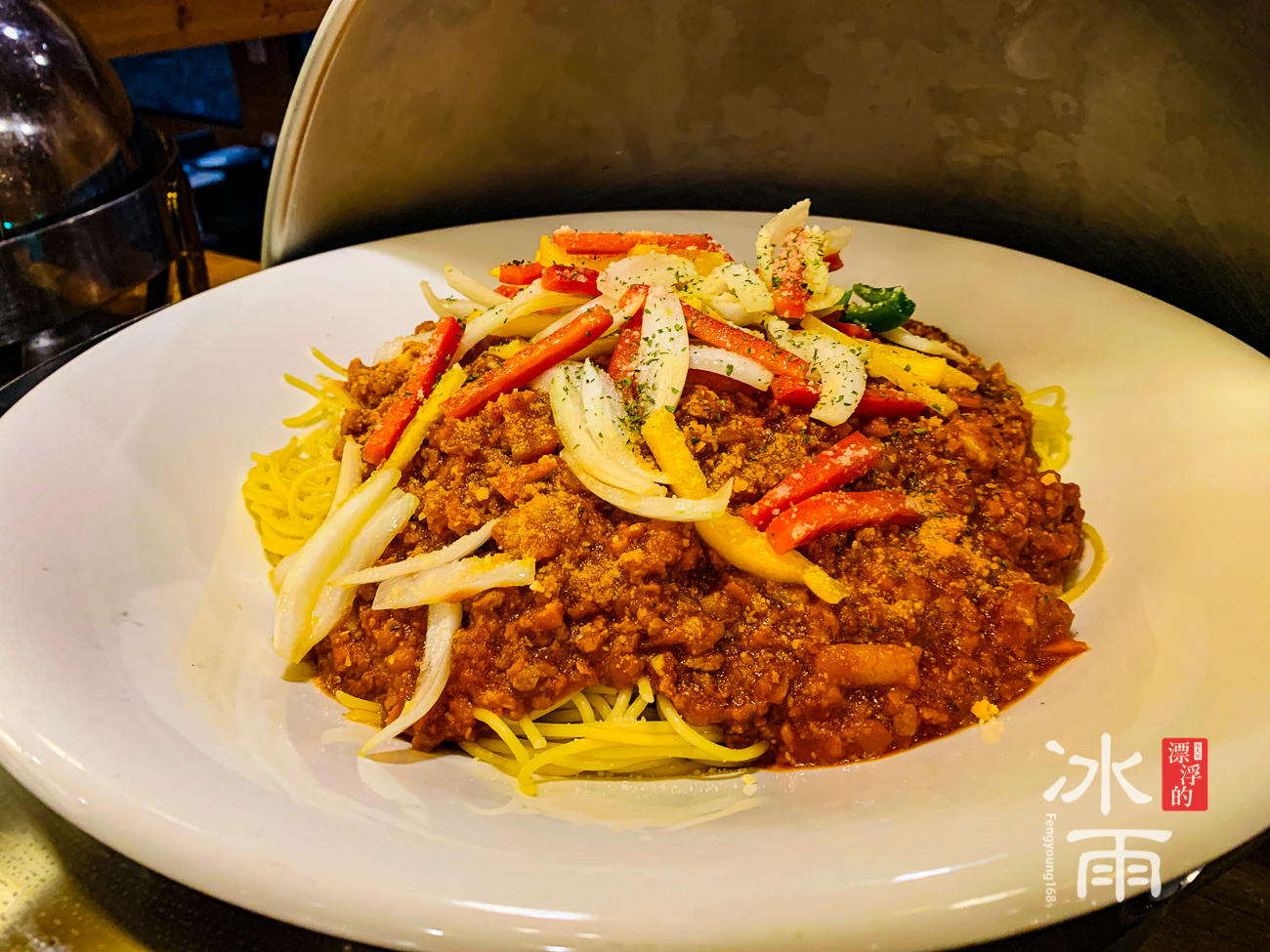 泰安湯悅溫泉會館|餐廳晚餐熟食義大利麵
