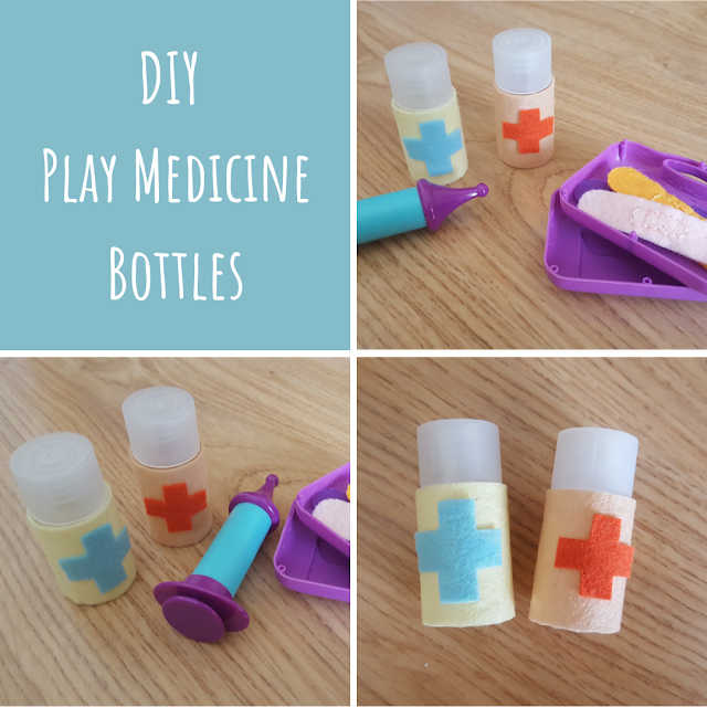 DIY Play Medicine Bottles