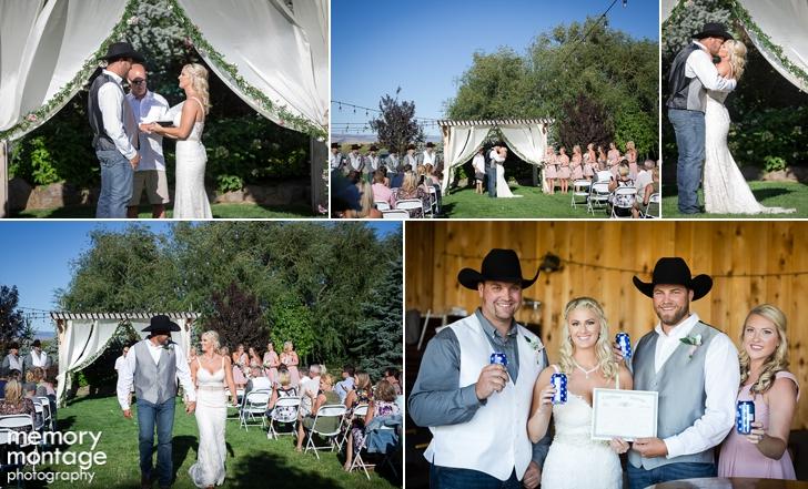 Koni Cody McIntosh Ranch wedding photography Ellensburg