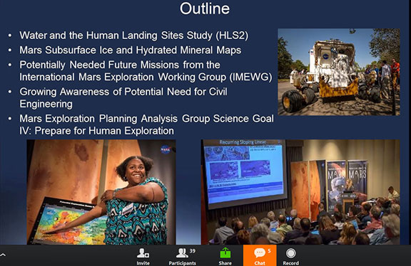 What? Civil Engineers needed now for Mars? (Source: MEPAG July 26 meeting at Caltech)