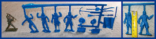 International Talk Like A Pirate Day; ITLAPD; MPC 60mm Figures; MPC Pirates; Multiple Products Corp.; Multiple Toys; Pirate Accessories; Pirate Accoutrements; Pirate Flag; Pirate Hats; Pirate Tools; Pirates; Pirates on Runner; Re-issue Pirates; Small Scale World; smallscaleworld.blogspot.com; Talk Like A Pirate; Treasure Box; Treasure Chest; Treasure Trunk;