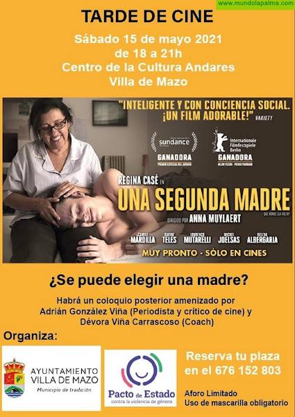 El Ayuntamiento de Mazo organiza una tarde de cine para concienciar sobre la igualdad de género