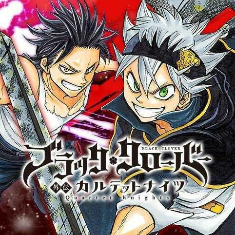 Manga Black Clover Gaiden: Quartet Knights Tamat Bulan Ini