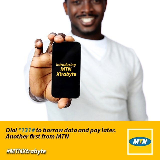 borrow data on mtn xtrabyte