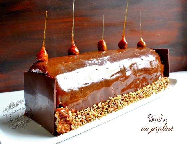 buche praliné dessert noel