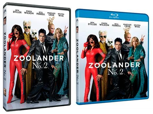 A la venta 'Zoolander No. 2' en DVD y Blu-ray