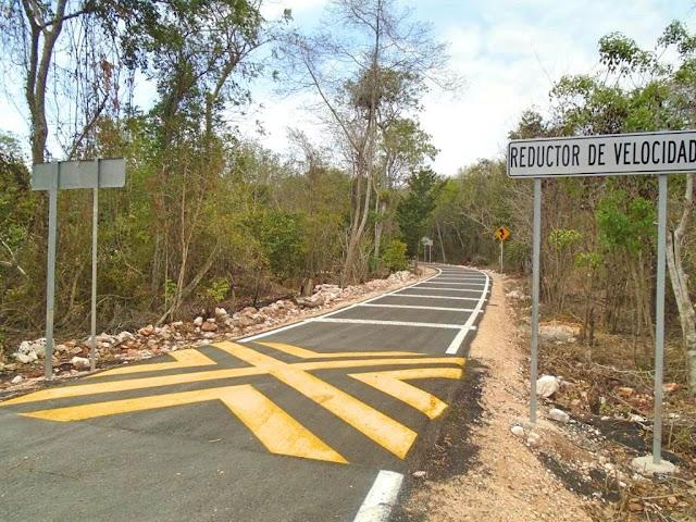 Concluyen obras del programa anual de conservación de carreteras alimentadoras