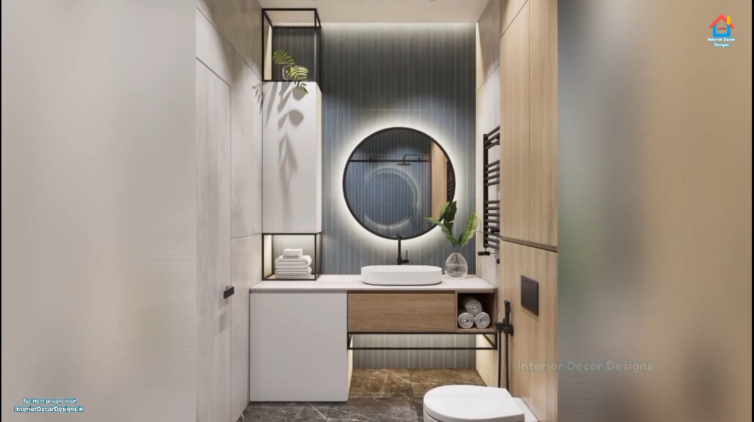 45 Interior Design Photos vs. Powder Room & Guest Bathroom Designs