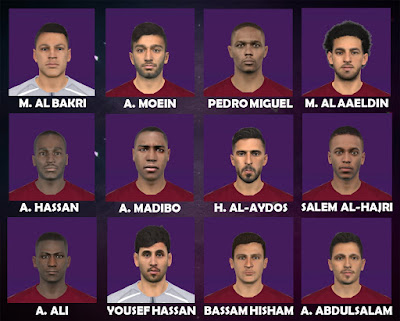 PES 2017 Facepack Qatar 2019 by FR Facemaker