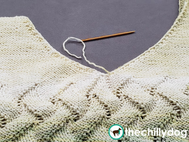 Neatly Weaving in Yarn Tails: Tips for taming the loose ends of your knitting