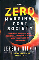 Book Cover - Zero Marginal Cost Society by Jeremy Rifkin