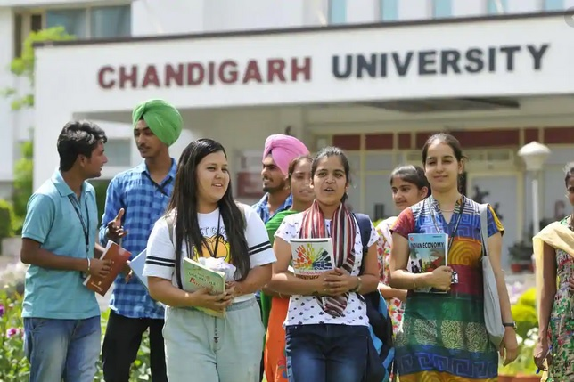 How is Chandigarh University in terms of Students Placement?