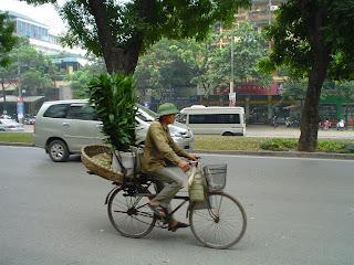 Vietnamese hat for men. Hanoi Vietnam